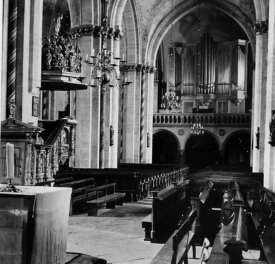 Orgel 1952